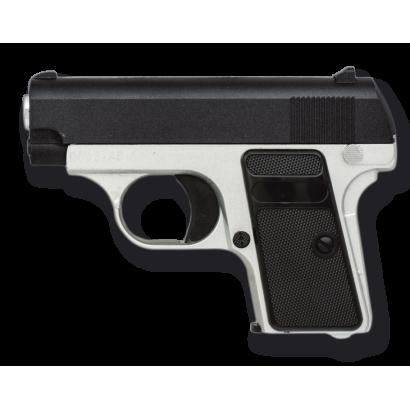 Pistola AIRSOFT.Mini.Metal.Mixta.