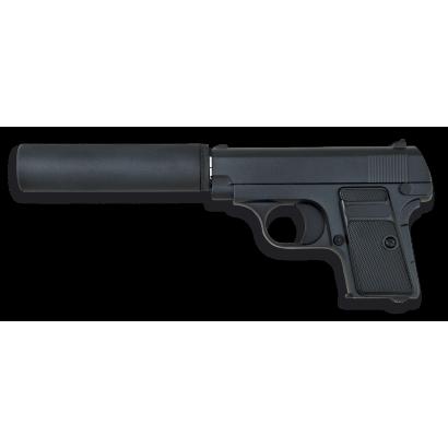 Pistola AIRSOFT.Metal.Negra.Golden Eagle