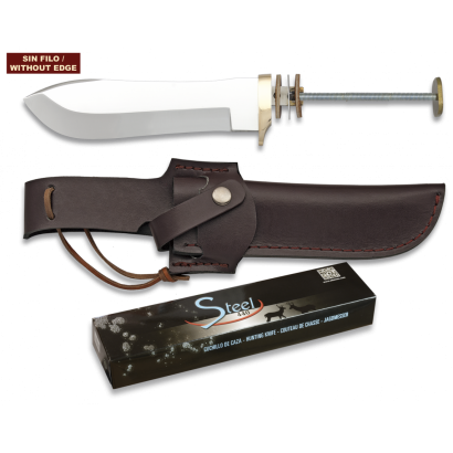Cuchillo. Total 26.5 cm. C/Funda