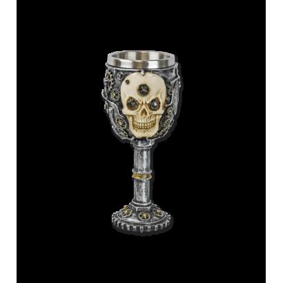 Copa decoración calavera 20 cm