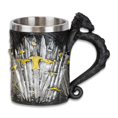 taza resina espadas