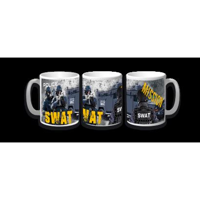 Taza Ceramica SWAT