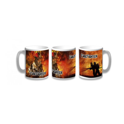 Taza Ceramica Fire Fighter