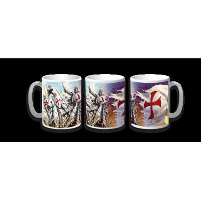 Taza Ceramica Templarios