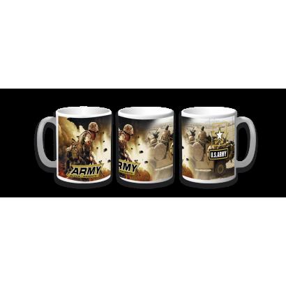 Taza Ceramica Army