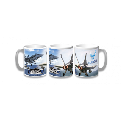 Taza Ceramica Air Force