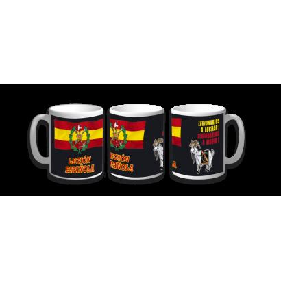 Taza Ceramica Legión Española