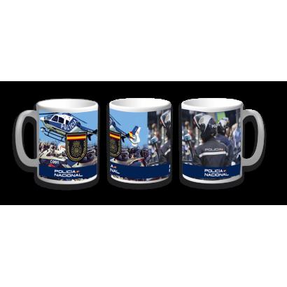 Taza Ceramica Policia Nacional