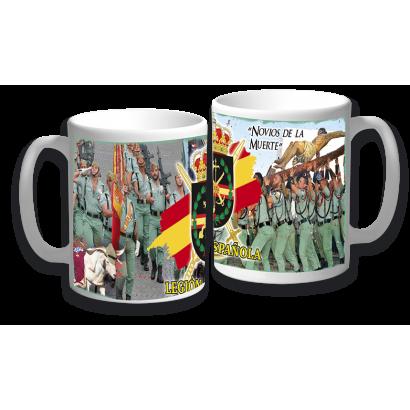 taza ceramica LEGION ESPAÑOLA