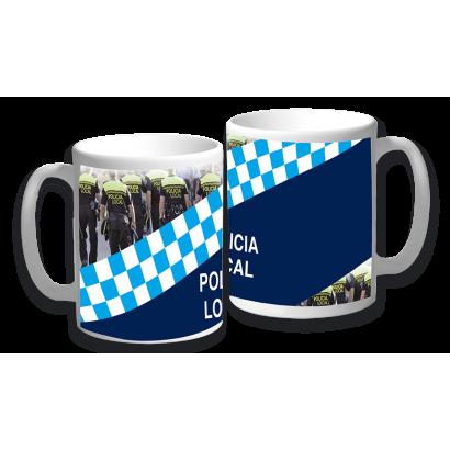 Taza cerámica Policia Local