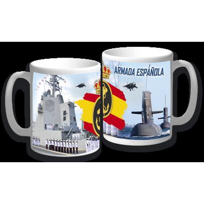 taza ceramica Armada Española
