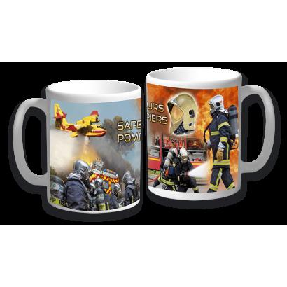 """taza ceramica """"Sapeurs Pompiers"""""""