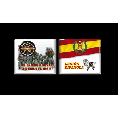 cartera impresa Legión