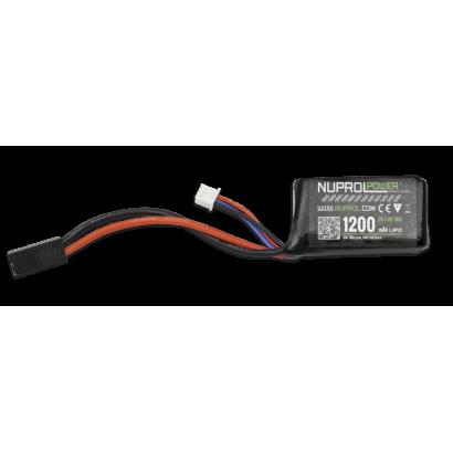 NUPROL - Bateria lipo 1200mah 7.4v 30c