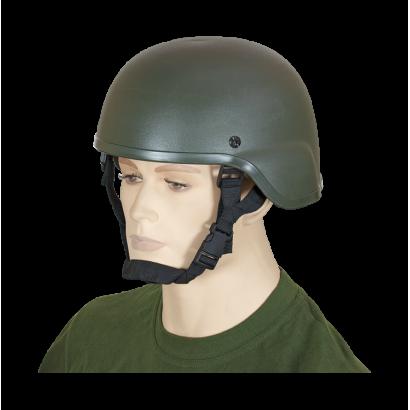 Casco táctico airsoft. Verde