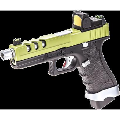 Pistola NUPROL. Vorsk EU17 Negro/ Verde