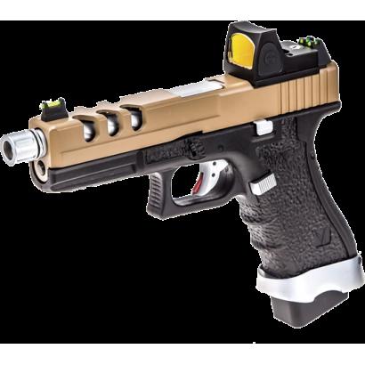 Pistola NUPROL. Vorsk EU17 Negro/ Tan