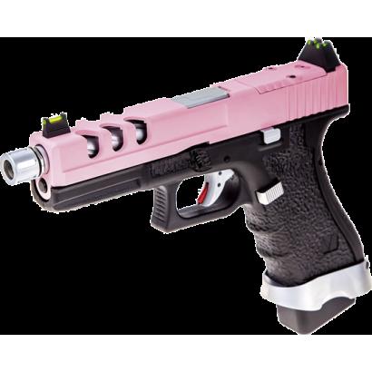 Pistola NUPROL. Vorsk EU17 Negro/ Rosa