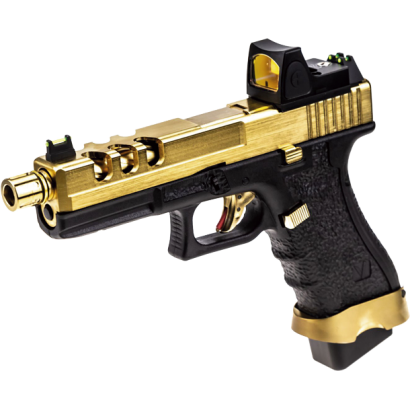 Pistola NUPROL. Vorsk EU17 Negro/ Dorado