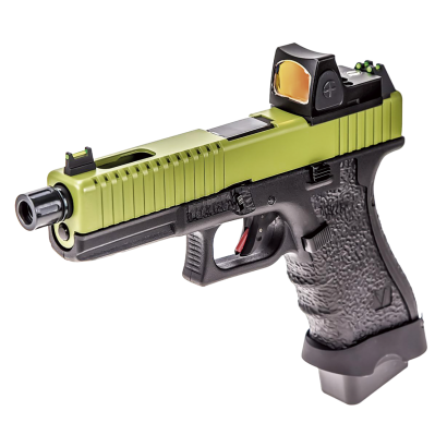 Pistola NUPROL.Vorsk EU17 Negro/Verde +
