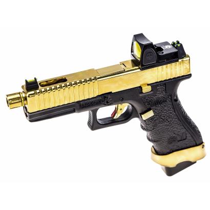 Pistola NUPROL.Vorsk EU17  Dorado/Negro