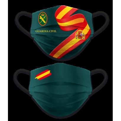 Mascarilla reversible Guardia Civil