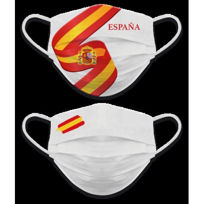 Mascarilla reversible Ban. España