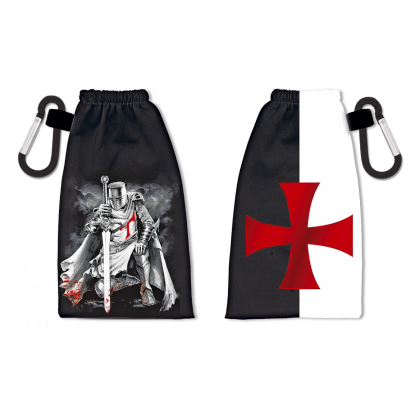 Portamascarillas reversible Templarios