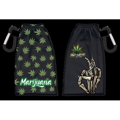 Portamascarillas reversible Marijuana