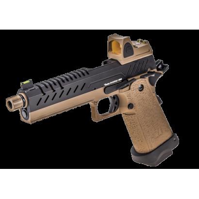 Pistola NUPROL.Vorsk Hi Capa 5.1 Tan/Neg