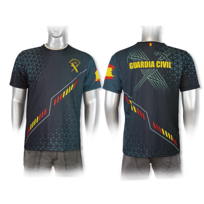 Camiseta Sublimación Barbaric G.Civil