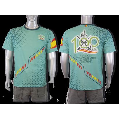 Camiseta Sublimación Barbaric 100 A. Leg