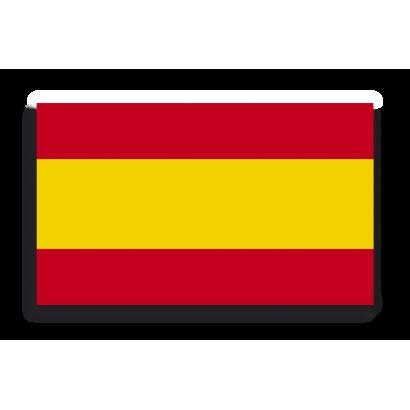 Pegatina Gota Cera España Mediana