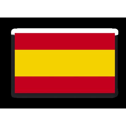 Pegatina Gota Cera España Grande