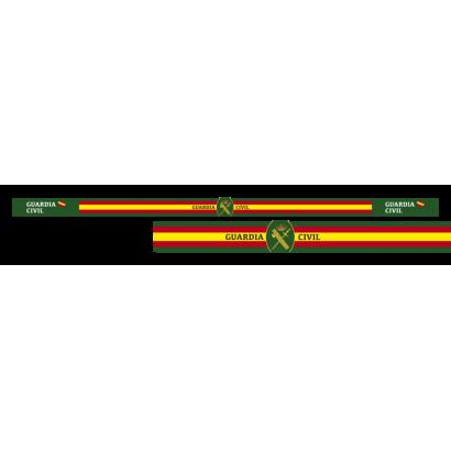 pulsera Guardia Civil 33 x 1.4 cm 6 pz