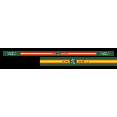 pulsera Legión Esp. 33 x 1.4 cm (6 pz)